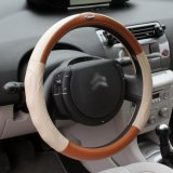 Bt 7223 Silver Edge Leather Steering Wheel Cover