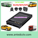 Taxi CCTV Kit with 2/4 Cameras 1080P Mobile DVR GPS Tracking 3G 4G