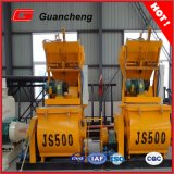 Js750 Small Electric Twin Shaft Concrete Mixer with 750L