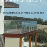 Clear Laminated Glass Railings with 3c/CE/Bsi Certificate