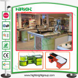 Grocery Shop Cash Register and Checkout Counters