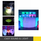 16 Colors Remote Control Rechargeable LED Bar Table