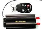 GPS Car Trackertk103b, Remote Control, Siren and Shake Sensor