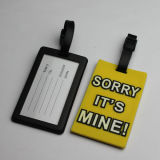 Silicone/PVC/Rubber/Hard Plastic Luggage Tag (PT0904)
