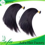 100% Double Drawn Natural Brazilian Human Hair Tip