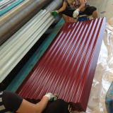 T Type Color Coated Corrugated Steel Sheet