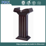 Wholesales Classic Dark Red Solid Wooden Church Pulpit with Great Feedbacks