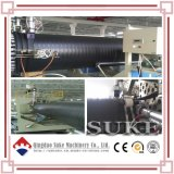 PE Plastic Steel Winding Pipe Production Extrusion Line