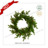 22′′ Christmas Supplies Artificial Wreath Decoration Christmas Decoration