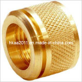 Brass Diamond Knurled Threaded Round Head Thumb Screw Nut Knob