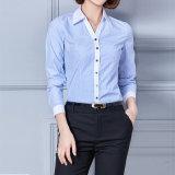 Fashion Formal Ladies Long Sleeve Latest Designs Offic Women Shirt