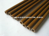Brown Color High Strength Pultrusion Fiberglass Tube, FRP Pole