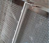 Tec-Sieve Crimped Woven Wire Space Cloth in High Carbon Abrasion Resistant Steel