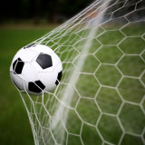 Square Mesh PE Knotless Football Net Soccer Ball Net