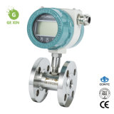 Local Display 4-20mA Output Flange Connection Turbine Flow Meter