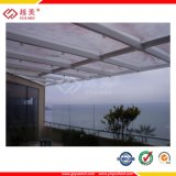 UV Protection, Clear Translucent White Triple-Wall PC Honeycomb Solid Hollow Compact Sheet 306