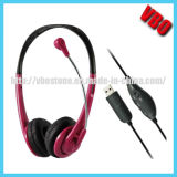 Popular Gaming Headset USB Headphone for PC/PS3