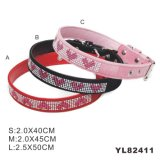 Luxury Dog Collar, Leather Dog Collar (YL82411)