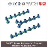 Titanium Fast Mini Locking Plate (HIgh-flexibility)