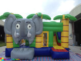 Hot Elephant Inflatable Jumping Castle with Slide Bouncer Castle Combo