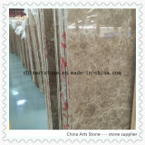 Crystal Emperador Light Marble Slab for Tile and Countertop