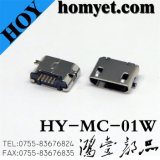 Fast Speed Micro USB Connector for Mobile Accessories (MC-01W)
