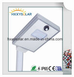 8W Manufacturer Integrated Solar LED Street Light
