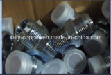 Straight Hydraulic Male Adaptor with Galvinized Plated