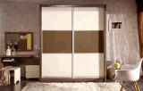 High Glossy Wardrobe for Living Room
