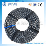 Rubberized Diamond Wire for Marble Quarry