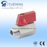 Single Male Thread Mini Ball Valve