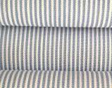 Cotton Polyester Yarn Dyed Teeth Label Cloth
