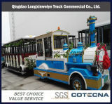 Wonderful Outdoors Locomotive and Coaches Tourist Diesel Trackless Train