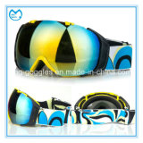 OEM Comfortable Adjustable Strap Revo Lens Ski Helmet Goggles