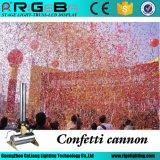 150W 10 Meters Remote Paper Wedding Stage CO2 Confetti Cannons, Confetti Machine