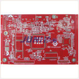 Double-Sided Red Solder Mask PCB with RoHS Standard