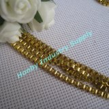 3mm Gold Color Brass Box Chain for Jewelry Making