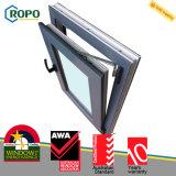 Australia Awa Wooden Colour UPVC Double Glazed Windows