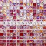 Iridescent Glass Mosaic Tile (Ice stone8)