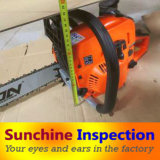 Chainsaw Final Random Inspection / Inspection Services Available in All China
