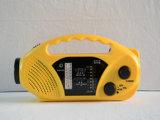 Protable ABS Material Am/FM/Wb Band Solar Dynamo Radio