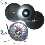 50Hz Toroidal Power Transformer with Low Magnetic Leakage