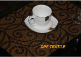 Luxury High Quality PVC Wholesale Dining Table Mat (DPR6011)