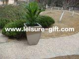 Stainless Steel Flower Pot Tapered Garden Box