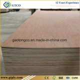 5.2mm Red Bintangor Commerical Plywood for Middle East