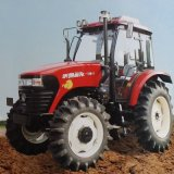 High Quality 4WD Wheel Farm Tractor with Factory Direct Price