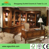 Mix Color Modern Solid Ash Wooden Furniture with Armres