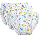 Custom Made Good Quality Comfortable Soft 100%Cotton Knitted Boy Briefs