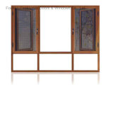 Feelingtop Aluminium Double Glazing Window with Mosquito Screen (FT-W108)