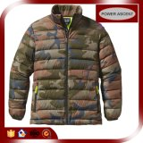 2016 Mens French Look Camouflage Jacket Thin Down Jacket